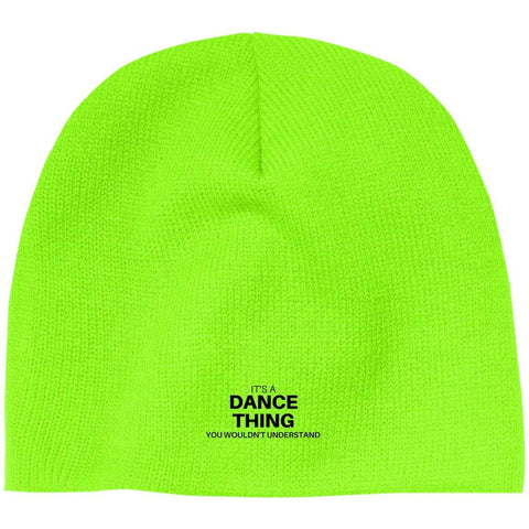 "Custom Beanie - ""it's A Dance Thing You Wouldn't Understand"""