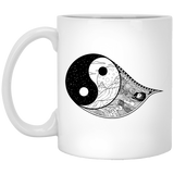 Gothic Yin Yang Mugs - Apparel - Rebel Style Shop