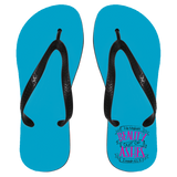 "Christian Flip Flops - ""He Makes Beauty Out Of Ashes"" - Apparel - Rebel Style Shop"
