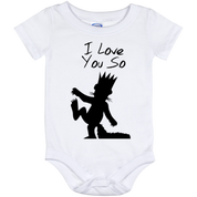I Love You So Baby Onesie 12 Month