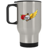 Skull, Rose, Parchment & Wing Mugs - Apparel - Rebel Style Shop