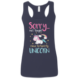 Sorry... Not Tonight Ladies' Softstyle Racerback Tank