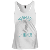 Mermaid Of Honor Racerback Tank Top