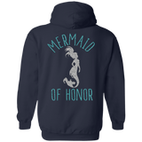 Mermaid Of Honor Pullover Hoodie 8 oz.