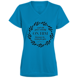 Cast All Your Anxiety On Him Ladies' Wicking T-Shirt - T-Shirts - Rebel Style Shop