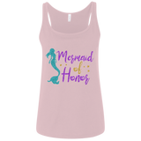 Mermaid Of Honor Ladies' Relaxed Jersey Tank