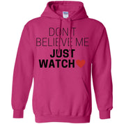 "Funky Sweater - ""Don't Believe Me Just Watch"" - Apparel - Rebel Style Shop"