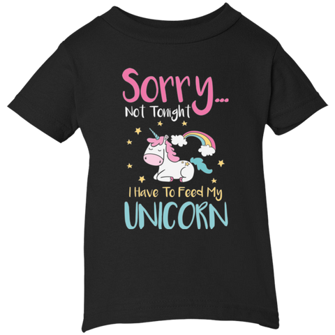 Sorry... Not Tonight Infant 5.5 oz Short Sleeve T-Shirt - T-Shirts - Rebel Style Shop
