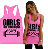 Girls Just Wanna Have Guns Tank - Rebel Style Shop - 2