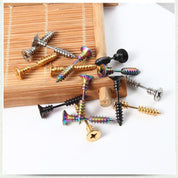 Screw Stud Earring - Earrings - Rebel Style Shop