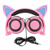 Foldable Cat Ear Headphones - Headphones - Rebel Style Shop