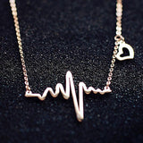Heart Beat Necklace - necklace - Rebel Style Shop