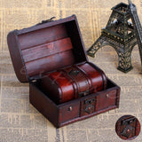Wooden Vintage Jewelry Box