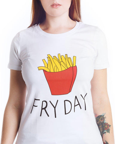 Fry Day Funny T-Shirt - Rebel Style Shop - 1
