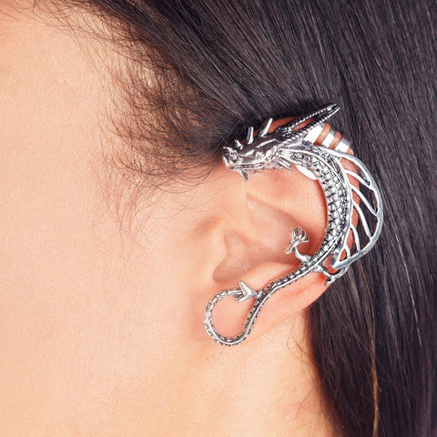 Dragon Wrap-around Ear Cuff - Rebel Style Shop - 1