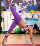 Ballet Yoga Pants (Purple & Grey) - Rebel Style Shop - 3