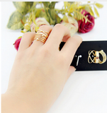 Gold Boho Rings (6 Piece Set) - Rebel Style Shop - 2