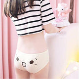 Pastel Kawaii Emoticons Underwear