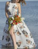 Floral Maxi Dress - Dress - Rebel Style Shop