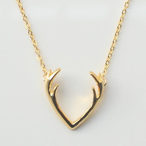 Antler Necklace - Rebel Style Shop - 1