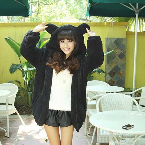 Bear Ear Hoodie - Rebel Style Shop - 1