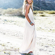 Boho Sexyback Maxi Dress - Rebel Style Shop - 3