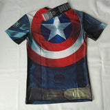 Captain America Compression Shirt - Rebel Style Shop - 2