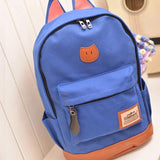 Cat Ears Canvas Backpack - Rebel Style Shop - 4