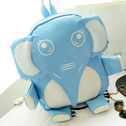 Kawaii Elephant Backpack - Rebel Style Shop - 2