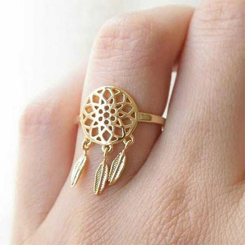 Dreamcatcher Ring - Ring - Rebel Style Shop