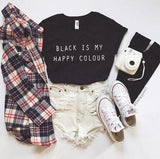 Black Is My Happy Colour T-Shirt