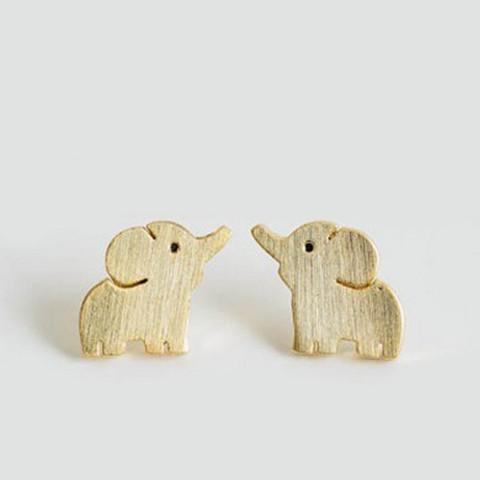 Elephant Stud Earrings - Rebel Style Shop - 2