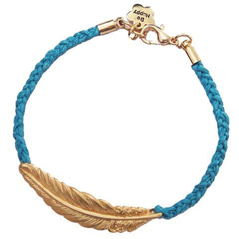 Boho Leaf Leather Rope Bracelet - Rebel Style Shop - 2