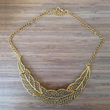 Leaves Collar Necklace - Rebel Style Shop - 3