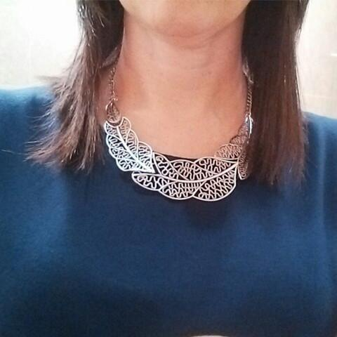 Leaves Collar Necklace - Rebel Style Shop - 1