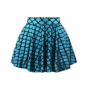Aqua Mermaid Skirt - Skirt - Rebel Style Shop