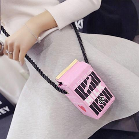 Milk Carton Bag - Rebel Style Shop - 1