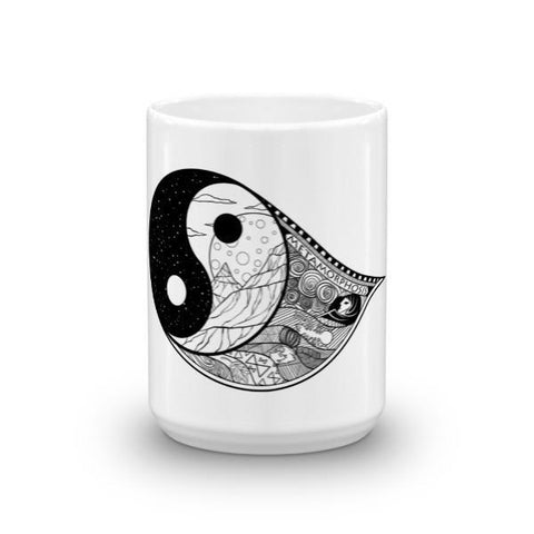 Yin-Tang Goth & Tattoo Inspired Mug - Rebel Style Shop - 1