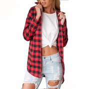 Women's Flannel Shirt - Rebel Style Shop - 1