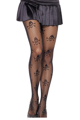 Skull Stockings - Rebel Style Shop - 1