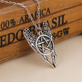 Supernatural Pentagram Necklace - Rebel Style Shop - 3