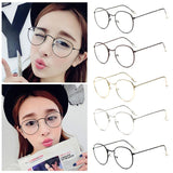 Kawaii Oval Glasses - Rebel Style Shop - 2