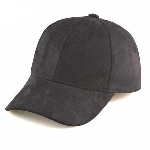 Suede Baseball Caps - Rebel Style Shop - 5