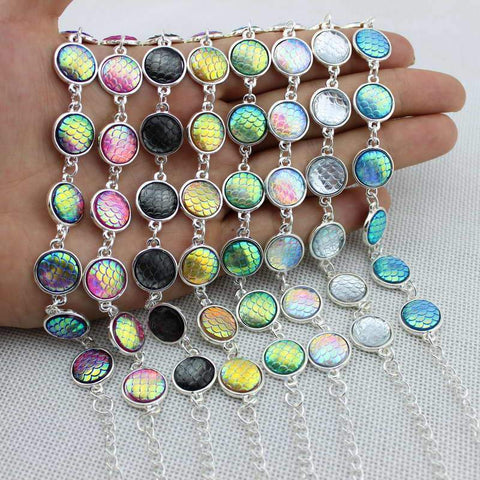 Mermaid Scale Bracelets