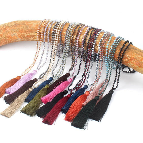 Bohemian Tassel Pendant Necklace - Rebel Style Shop - 1