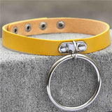 Punk Rock O-Circle Collar Choker - Rebel Style Shop - 3