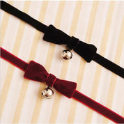 Kawaii Bell Pendant Bow Choker - Choker - Rebel Style Shop