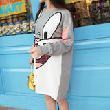 Bunny Printed Dress - Rebel Style Shop - 1