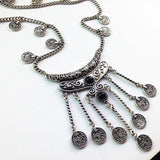 Vintage Coin Necklace - necklace - Rebel Style Shop