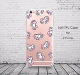 Clear Unicorn iPhone Cases - cell phone case - Rebel Style Shop